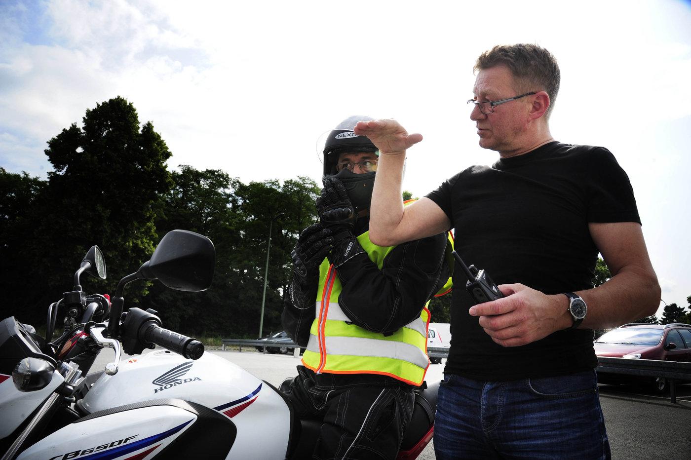 Fahrunterricht Motorrad Klasse A