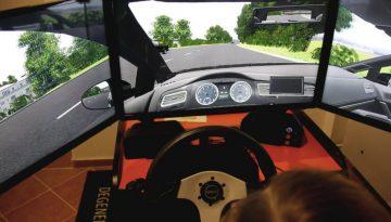 Fahrsimulator Cockpit